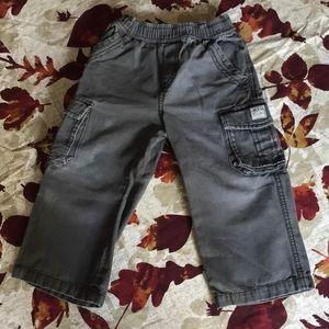 Children's Place 3T gray Cargo Pants